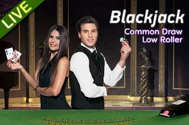 Live Blackjack Common Draw Low