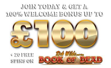 Casino Kings - Claim Up to £100 Welcome Bonus
