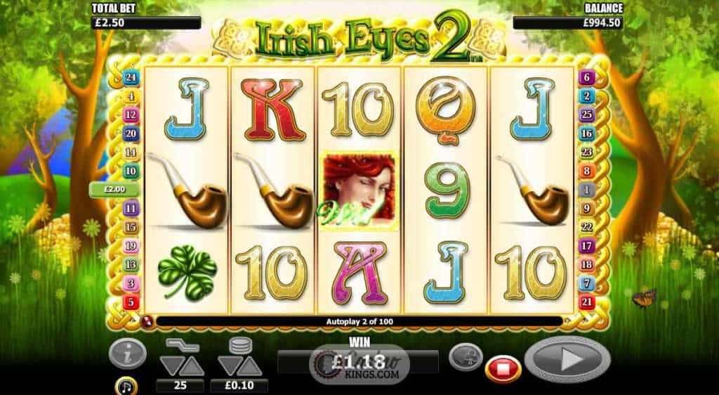 Irish Eyes 2 slot - Casumo Casino