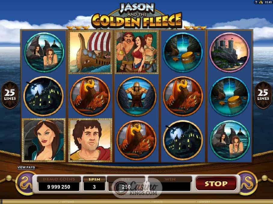 jason and the golden fleece casino