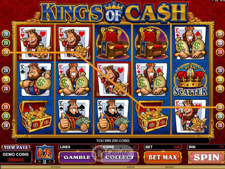 Kings of Cash Game Overview
