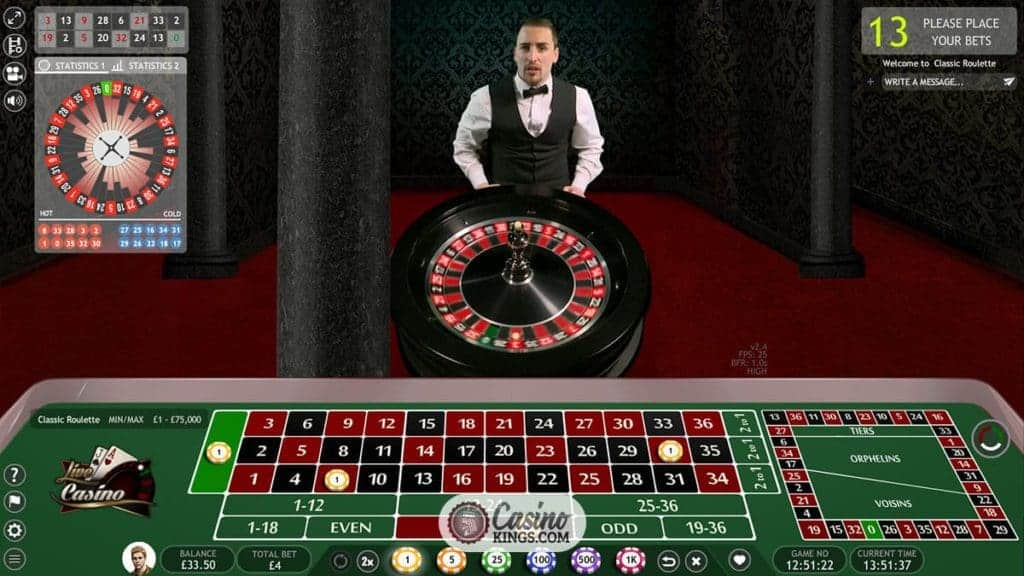 Best Live Roulette