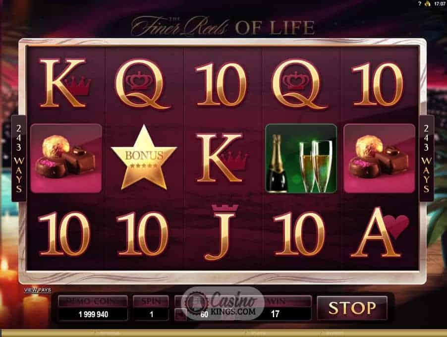 Finer Reels Of Life - Rizk Casino