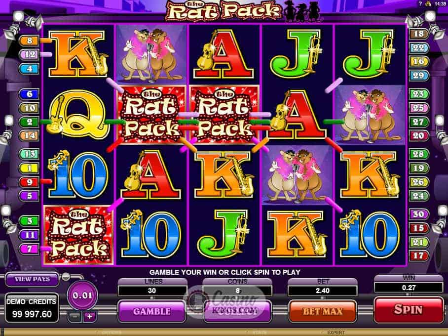 The Rat Pack Online Slot for Real Money - Rizk Casino