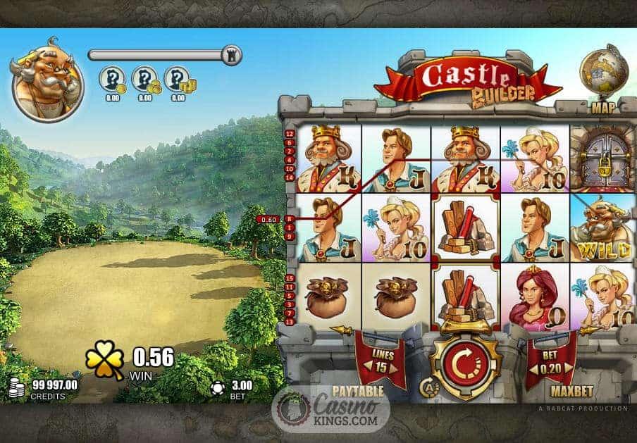 Casino castle builder