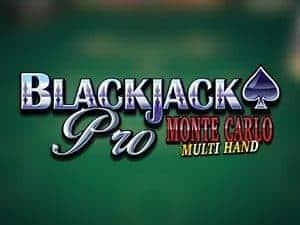 Blackjack Pro Montecarlo Multihand