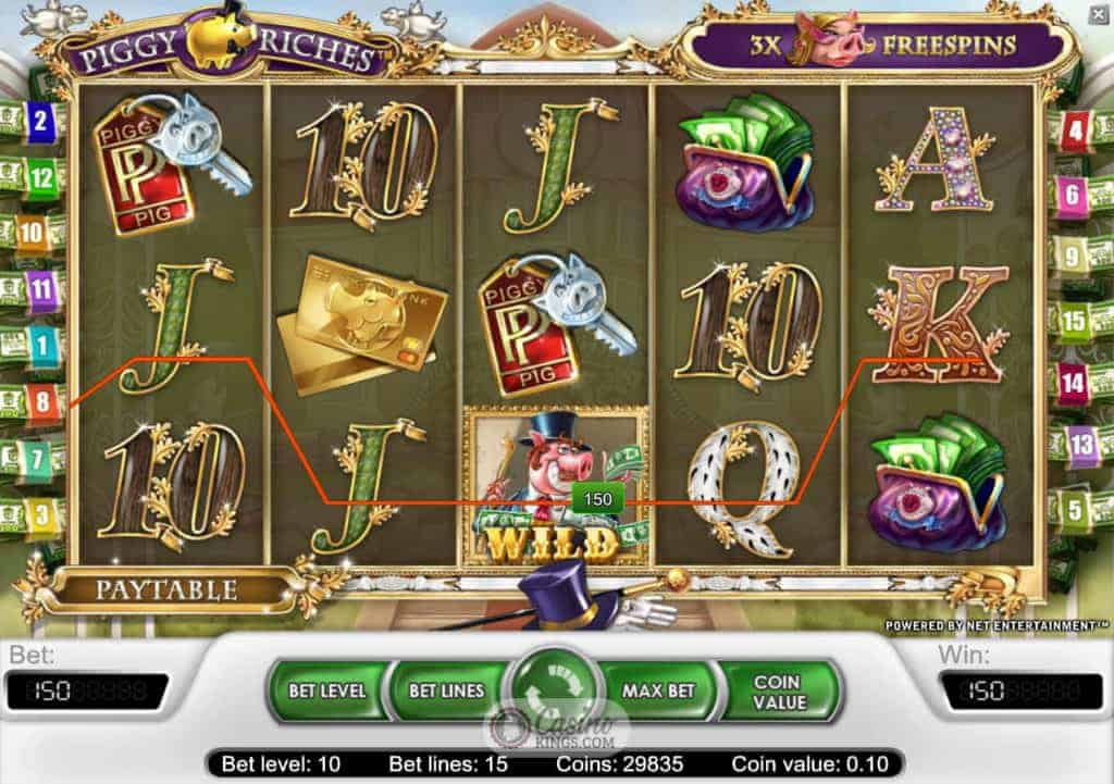 Play Piggy Riches Slot Online at Casino.com UK