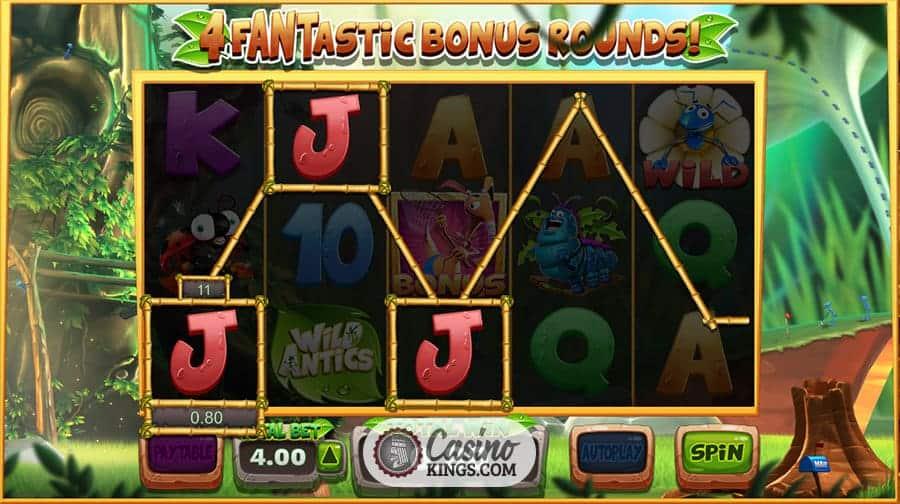 wild antics casino