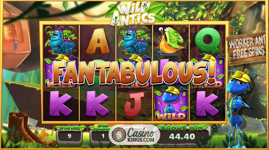 Wild Antics slot - Casumo Casino