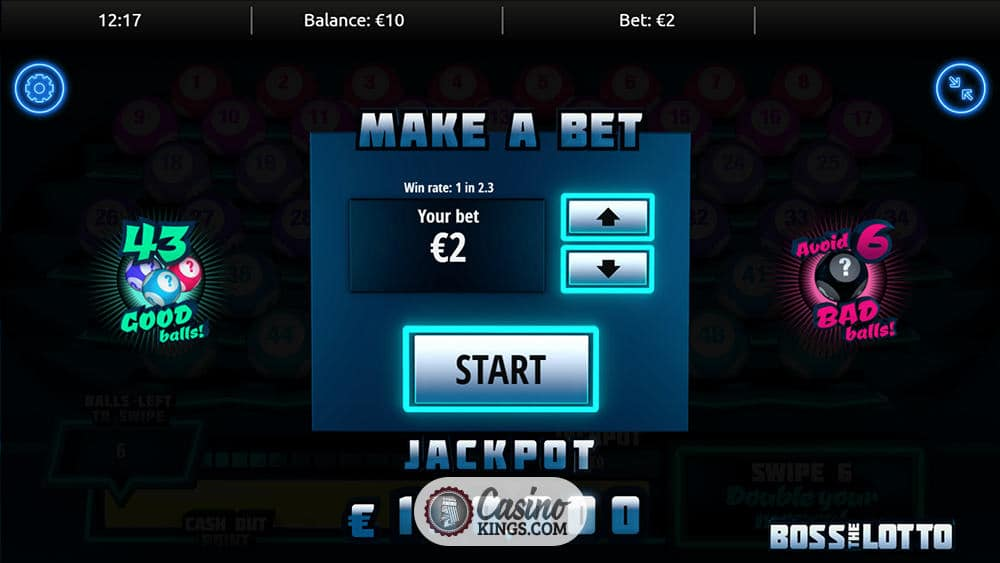 Boss The Lotto Scratchcard Slot   Casino Kings