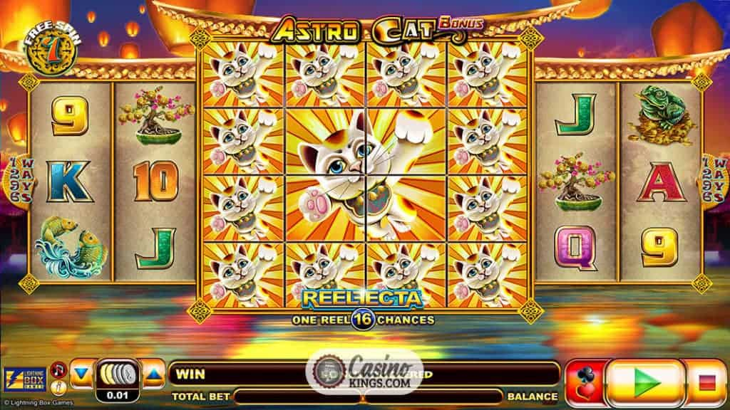 Spiele Astro Cat - Video Slots Online