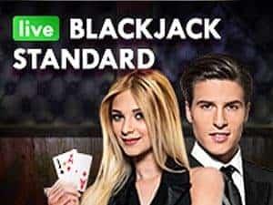 NetEnt Live Blackjack Standard