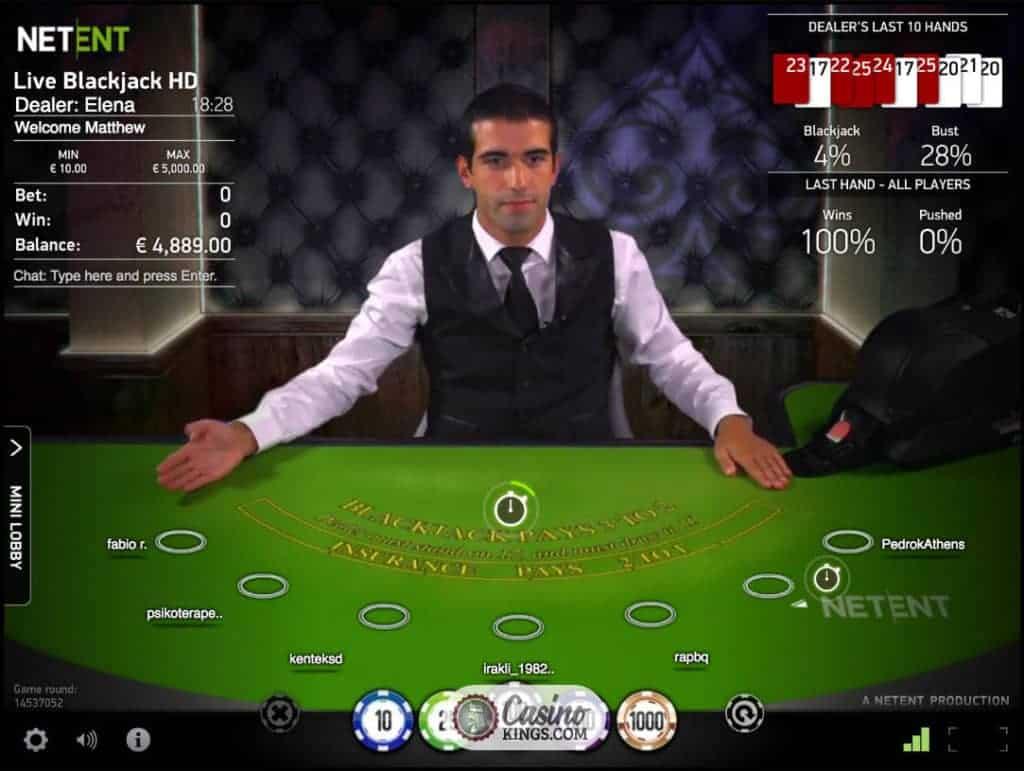 Live casino blackjack casino gold cigars