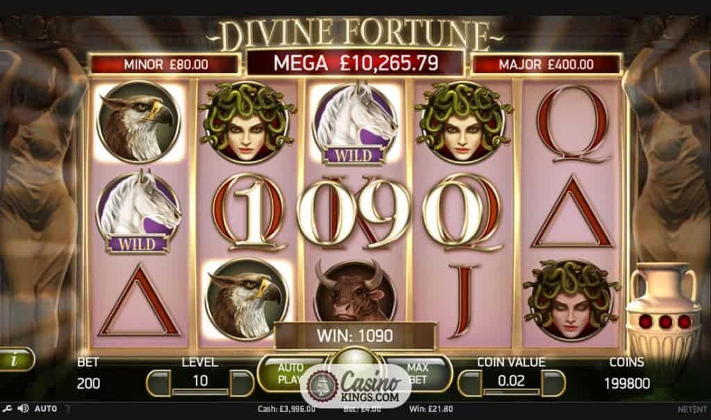 divine fortune играть play fortuna