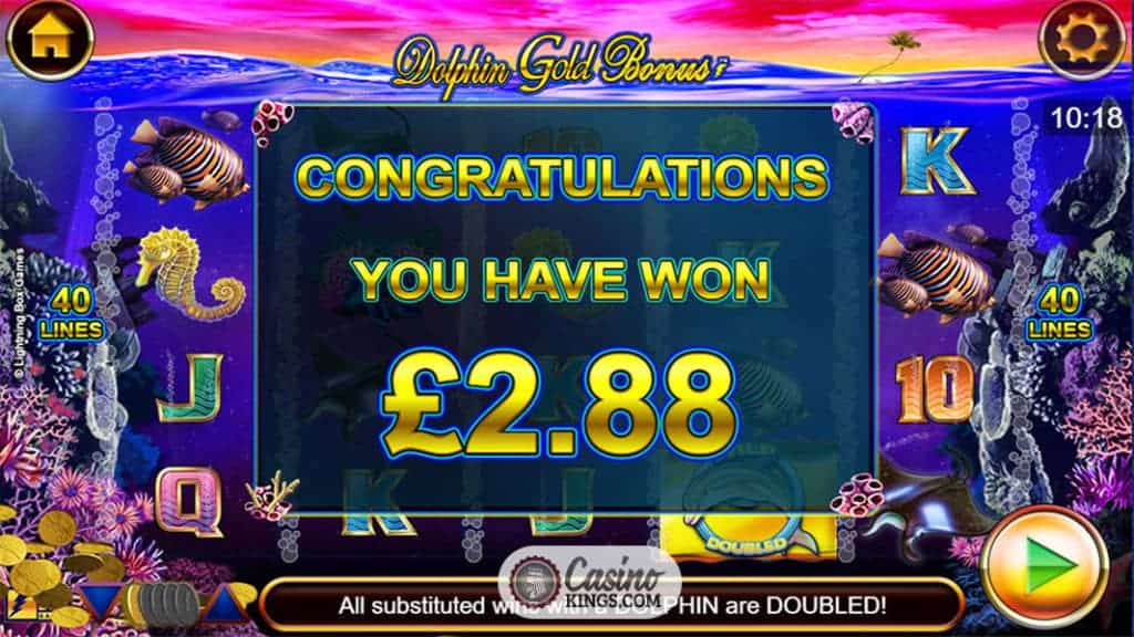 Golden Dolphin Slot - Free Online IGaming2go Slots Game