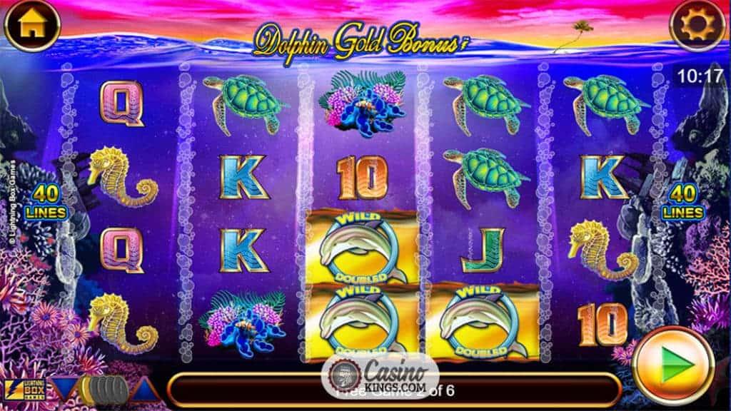 Dolphin Gold Stellar Jackpots - Casumo Casino