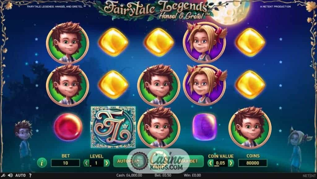 Hansel & Gretel Slots - Play this Video Slot Online