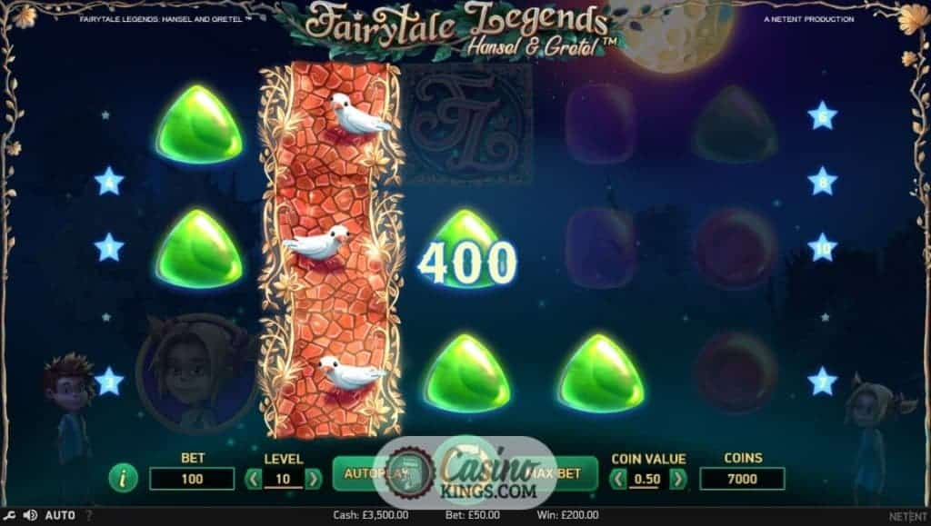 Hansel & Gretel Slots - Play this Video Slot Online