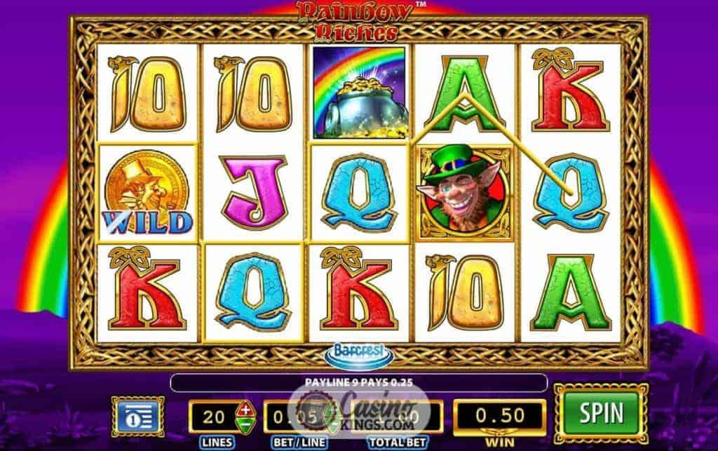 casino online mobile rainbow king