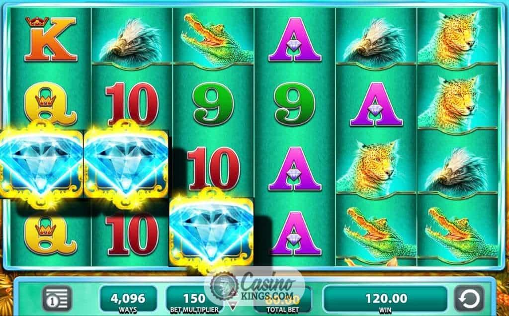 Raging Rhino Slot Up To 100 Welcome Bonus Casino Kings
