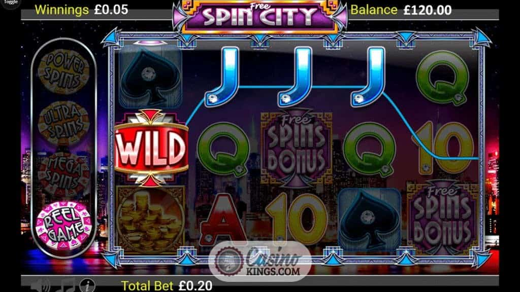 spin city online casino