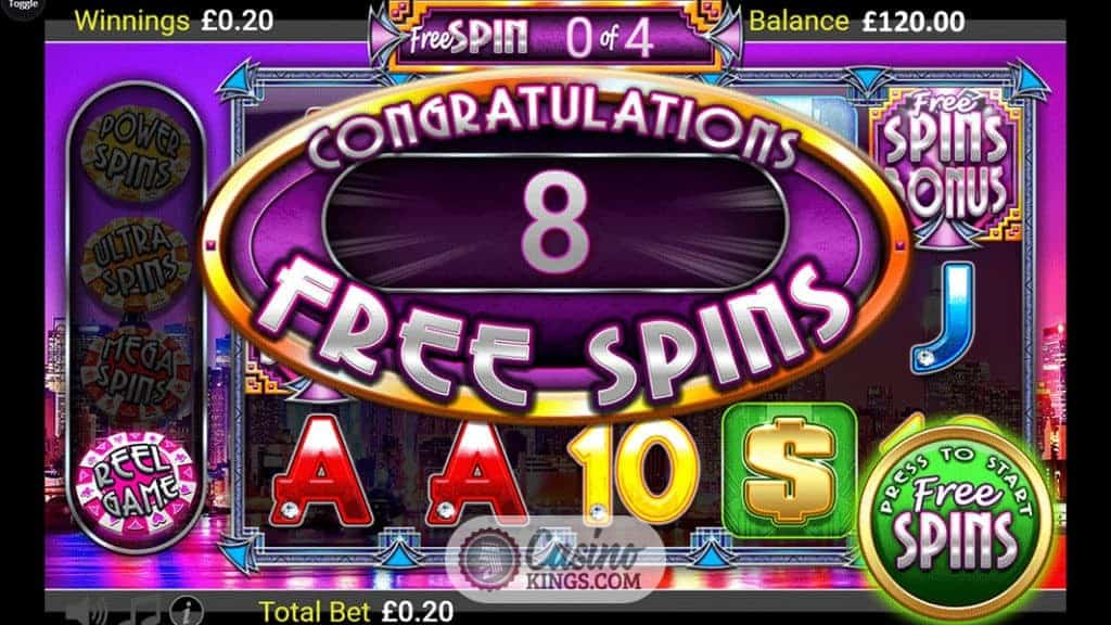 Spin City Casino Mobile