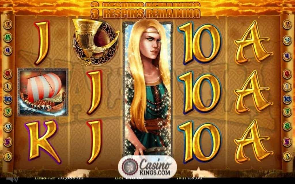 Find winnings in valhalla playing call of the valkyries slots Sürmene