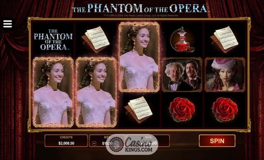 The Phantom Of The Opera Free Play Slot