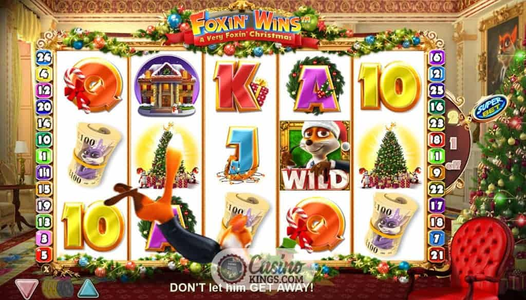 Foxin' Wins A Very Foxin' Christmas Slot - Play for Free Now