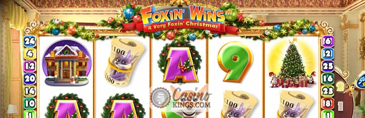 Foxin Wins: A Very Foxin Christmas Slot-game