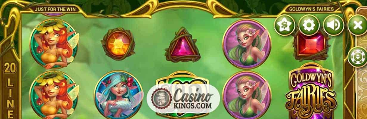 Goldwyn's Fairies Slot-game