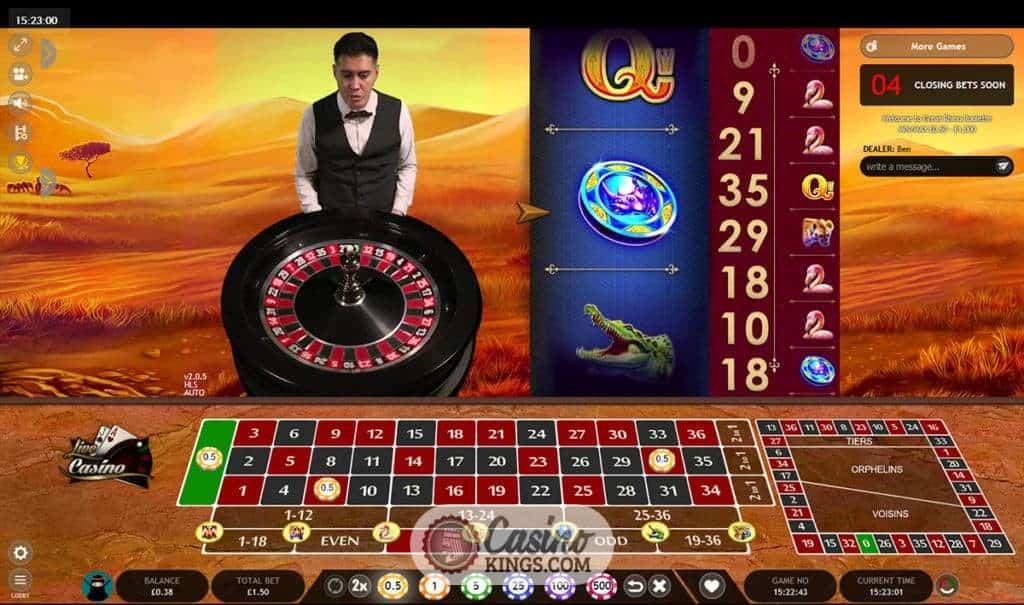 The Year Of Live Casino Play