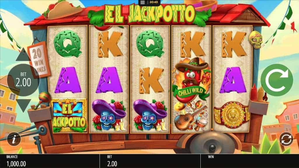 Blueprint's El Jackpotto Offers Saucy Slots Action