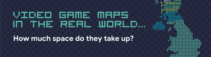 Video Game Maps in The Real World