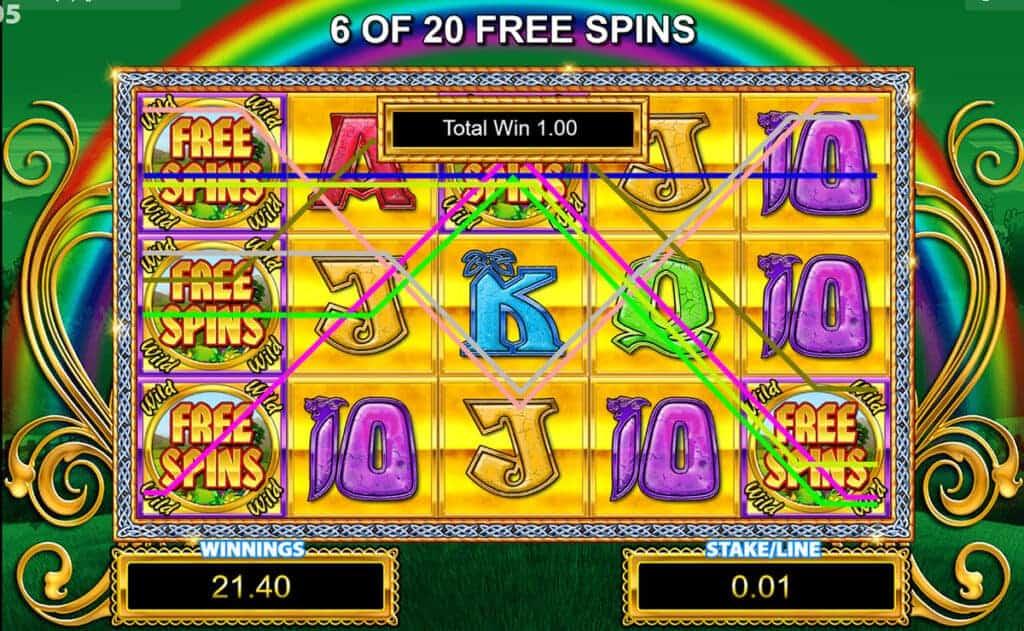 Rainbow riches slot games